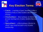 key election terms1