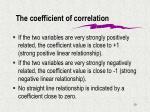 the coefficient of correlation1