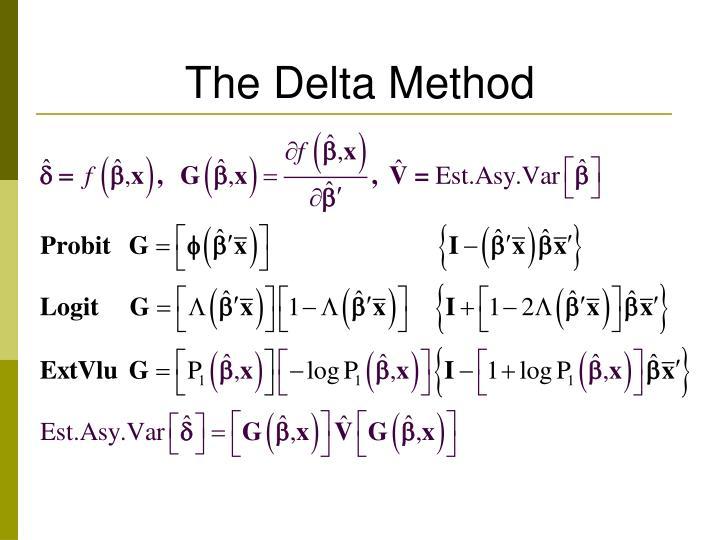 The Delta Method