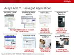 avaya ace packaged applications