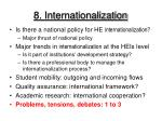 8 internationalization