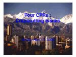 four cprs crosscutting issues
