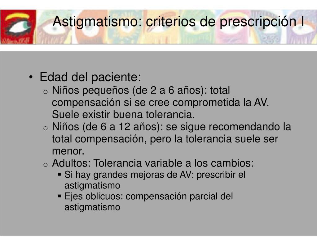 75190b0446 PPT - ASTIGMATISMO PowerPoint Presentation - ID:1417222
