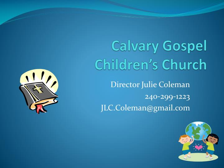 calvary gospel children s church n.