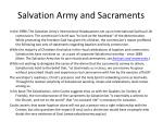 salvation army and sacraments1