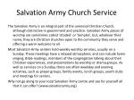 salvation army church service1