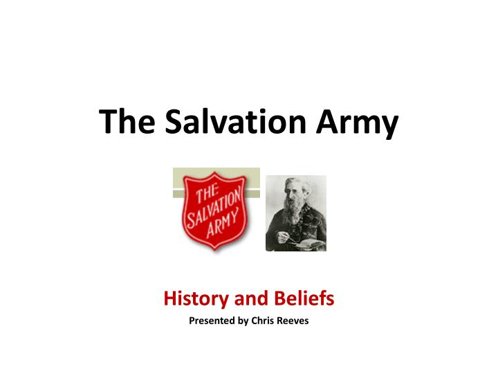 the salvation army n.