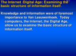 the internet digital age examining the basic structure of information itself