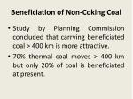 beneficiation of non coking coal