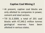 captive coal mining 2