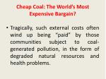 cheap coal the world s most expensive bargain2