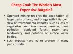 cheap coal the world s most expensive bargain3