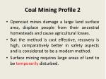 coal mining profile 2