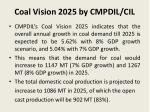coal vision 2025 by cmpdil cil