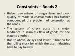 constraints roads 2