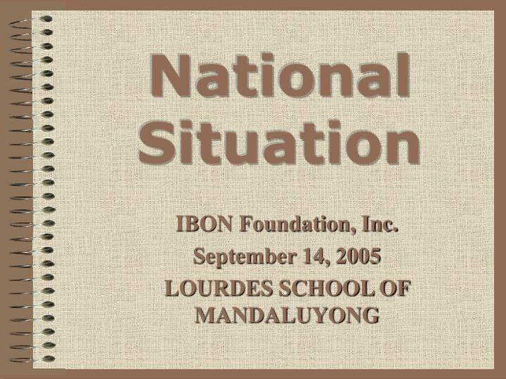 national situation n.