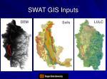 swat gis inputs