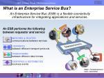 what is an enterprise service bus