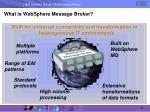 what is websphere message broker