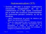 autonomisation 3 3