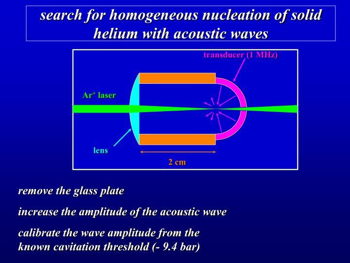 transducer (1 MHz)