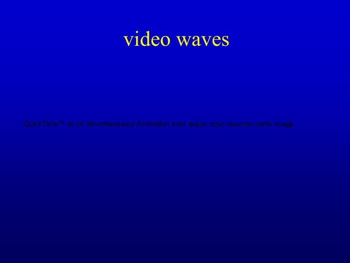 video waves
