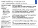 undp partnerships in poverty reduction small medium size enterprise sme development