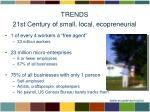 trends 21st century of small local ecopreneurial1