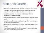 path c vocational