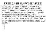 free cash flow measure