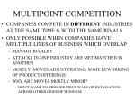 multipoint competition
