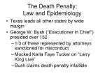 the death penalty law and epidemiology2