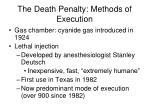 the death penalty methods of execution3