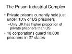 the prison industrial complex
