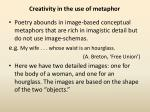 creativity in the use of metaphor2