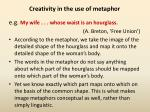creativity in the use of metaphor3