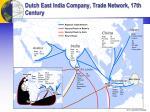dutch east india company trade network 17th century