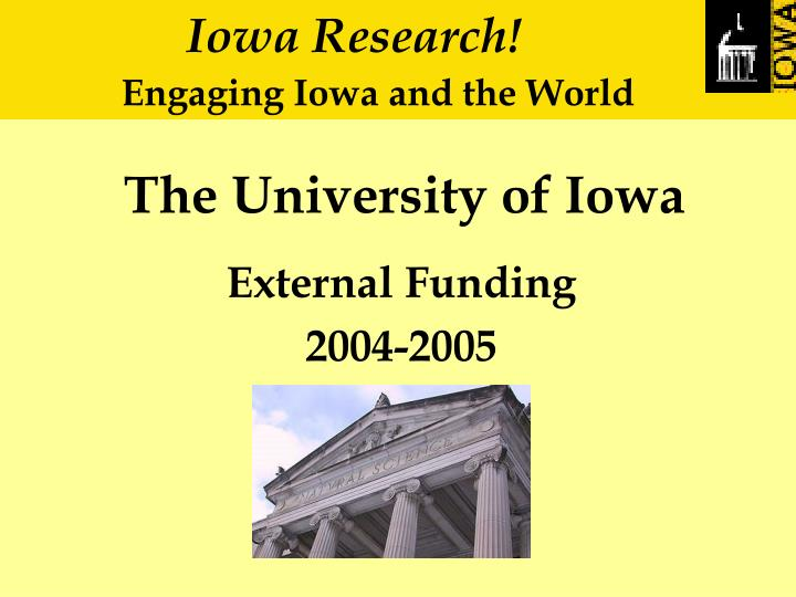 the university of iowa n.