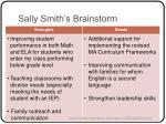 sally smith s brainstorm