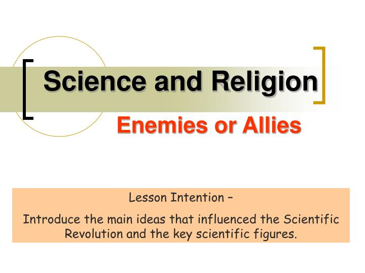 science and religion n.