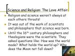 science and religion the love affair