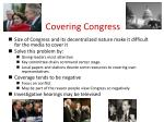 covering congress