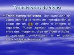 transiciones de video