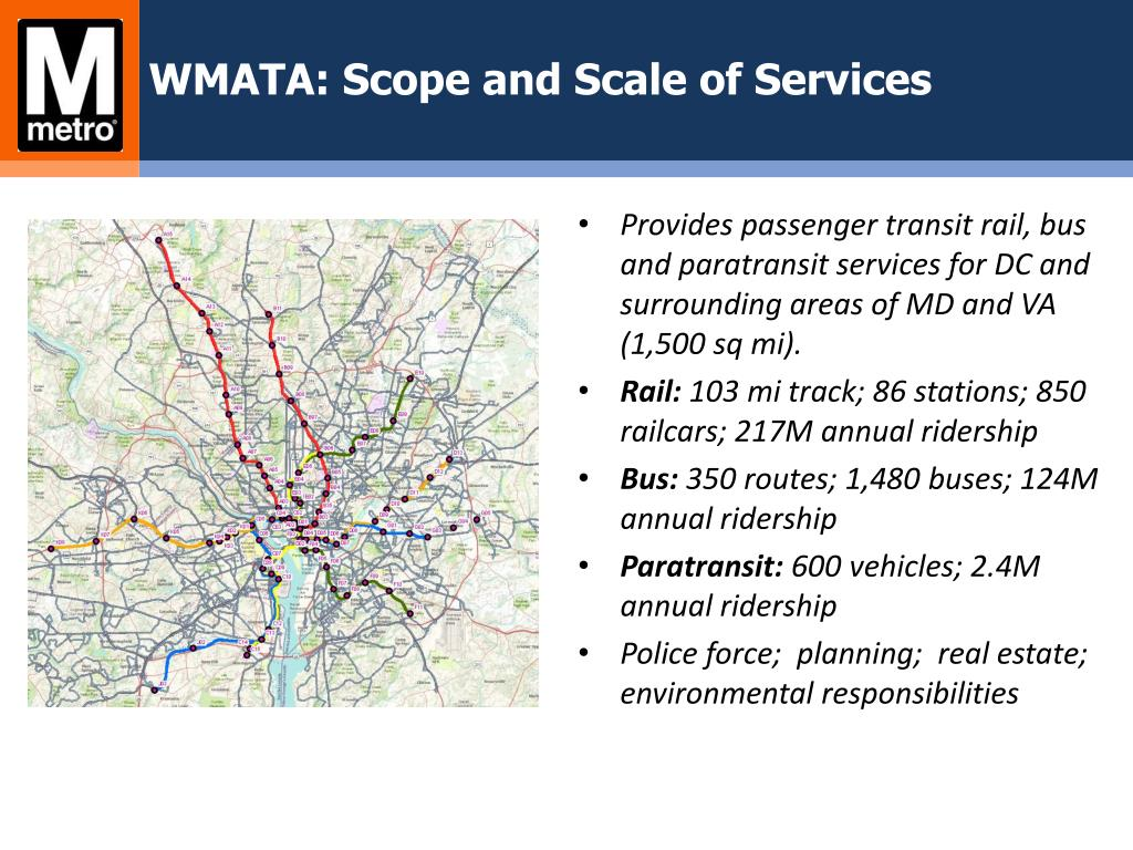 PPT - Washington Metropolitan Area Transit Authority