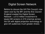 digital screen network