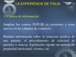 la experiencia de italia1