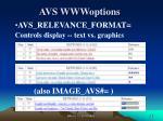 avs wwwoptions2