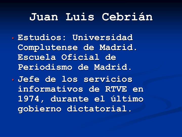 Juan luis cebri n1