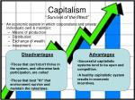 capitalism survival of the fittest