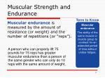 muscular strength and endurance5